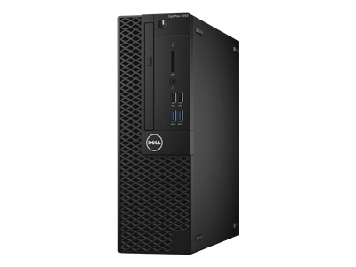 Dell OptiPlex 3050 - SFF - 1 x Core i3 7100 / 3.9 GHz - RAM 4 GB - HDD 500 GB - DVD-Writer - HD Graphics 630 - GigE - Win 10 Pro 64-bit - monitor: none - BTS