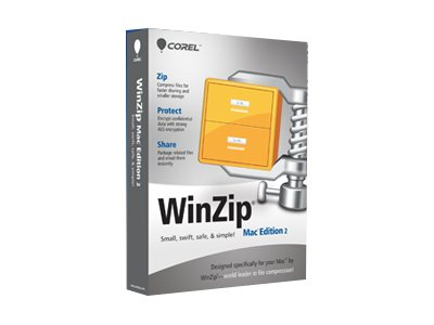 WinZip Mac Edition (v. 2.0) upgrade license 1 user CTL level A (2-9) Mac English