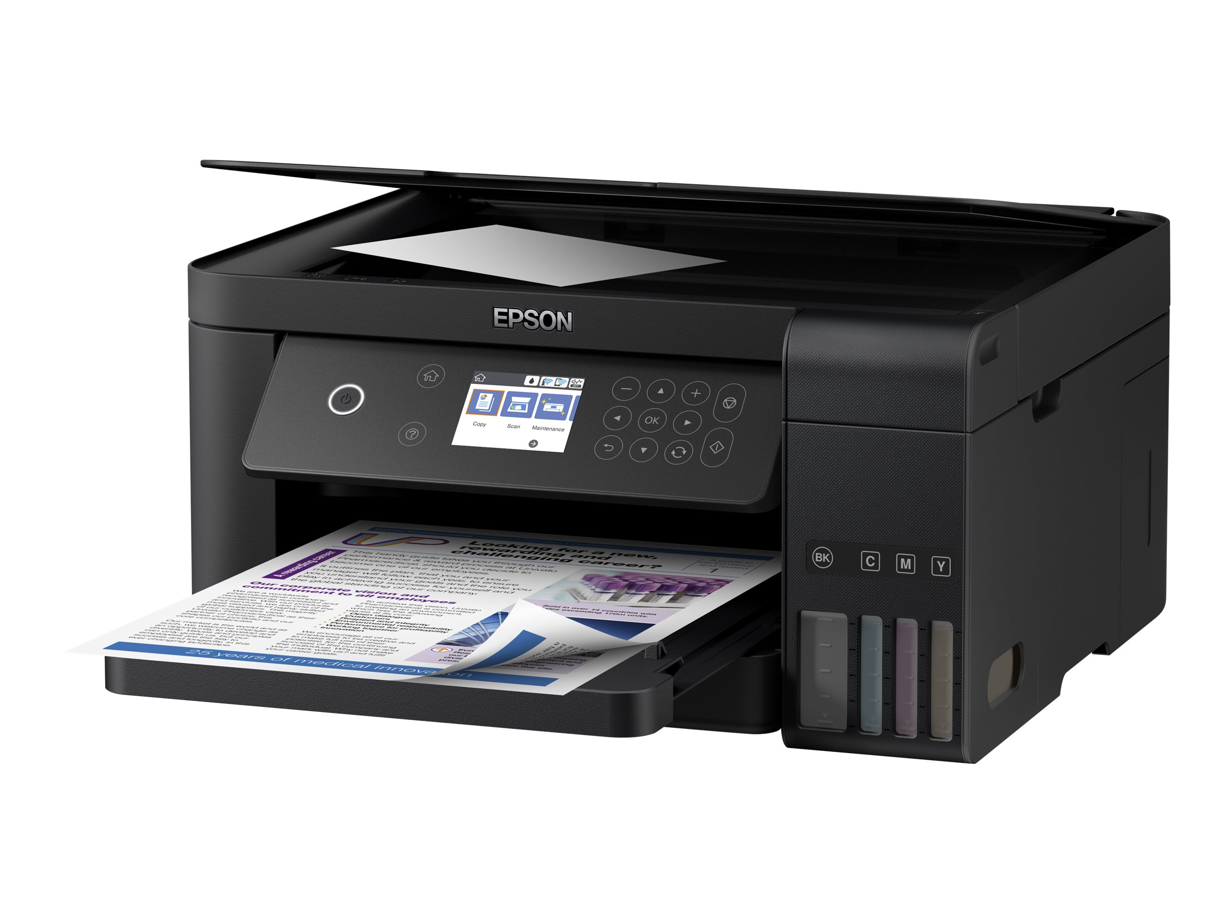 Epson Expression ET-3700 EcoTank All-in-One - multifunction printer - color
