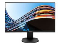 "Philips S-line 243S7EHMB - Écran LED - 24"" (23.8"" visualisable) - 1920 x 1080 Full HD (1080p) - IPS - 250 cd/m² - 1000:1 - 5 ms - HDMI, VGA - haut-parleurs - noir, noir texturé"