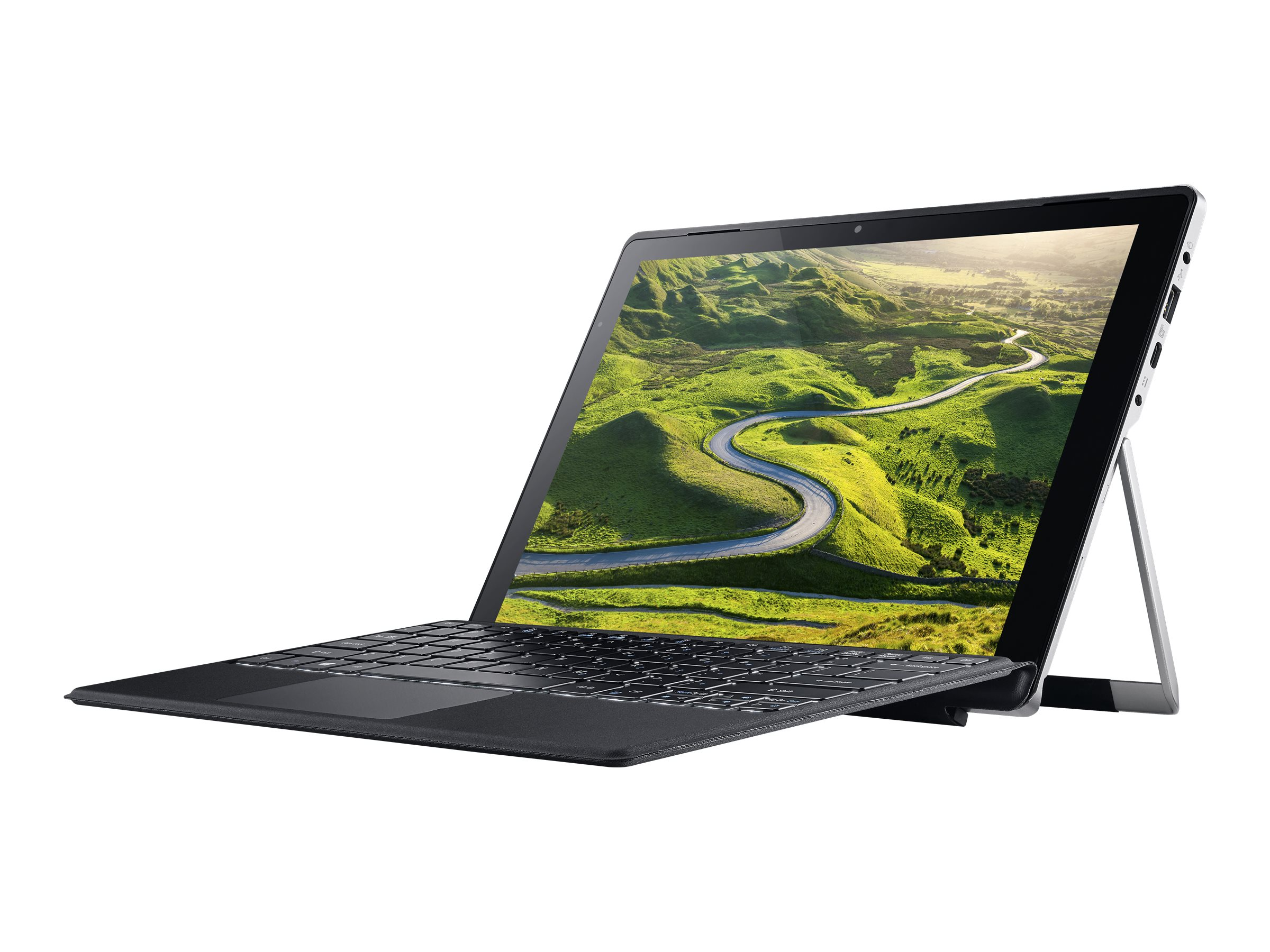 Acer Switch Alpha 12 SA5-271P-56H6 - Tablet - mit abnehmbarer Tastatur - Core i5 6200U / 2.3 GHz - Win 10 Pro 64-Bit - 4 GB RAM