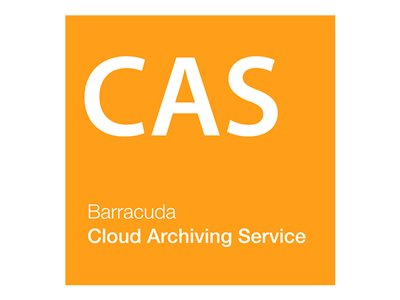 Barracuda Cloud Archiving Service Subscription license renewal (1 month) 1 user hosted
