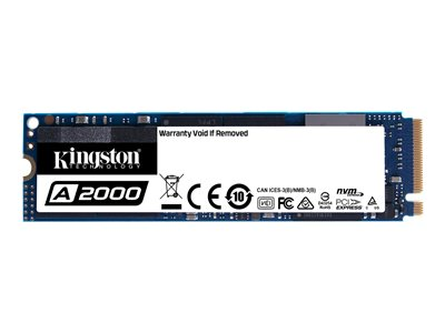 Kingston A2000 - solid state drive - 250 GB - PCI Express 3.0 x4 (NVMe)