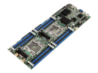 Intel Compute Module HNS2600TP24SR - Server - blade - 2-way - RAM 0 MB - no HDD - GigE, 10 GigE - monitor: none