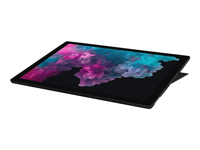 "Microsoft Surface Pro 6 - Tablette - Core i5 8350U / 1.7 GHz - Win 10 Pro - 8 Go RAM - 256 Go SSD NVMe - 12.3"" écran tactile 2736 x 1824 - UHD Graphics 620 - Wi-Fi, Bluetooth - noir - commercial"