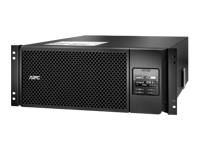 APC Smart-UPS SRT 6000VA RM - UPS (rack-mountable) - AC 230 V - 6000 Watt - 6000 VA - Ethernet 10/100, USB - output connectors: 13 - 4U - black