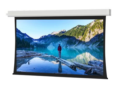 Da-Lite Tensioned Advantage Electrol 16:10 Wide Format Projection screen in-ceiling mountable
