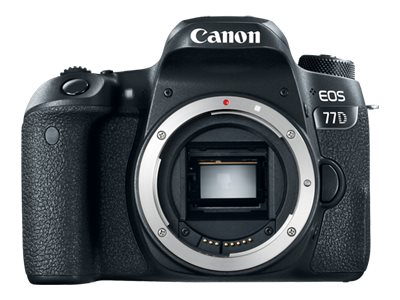 Canon EOS 77D - digital camera - body only
