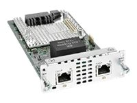 Cisco Fourth-Generation Multi-flex Trunk Voice/Clear-channel Data T1/E1 Module - Module d'extension - T1/E1 x 2 - T-1/E-1 - pour Cisco 4451-X