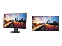 NEC MultiSync EX241UN-BK-SV LED monitor 24INCH (23.8INCH viewable) 1920 x 1080 Full HD (1080p)