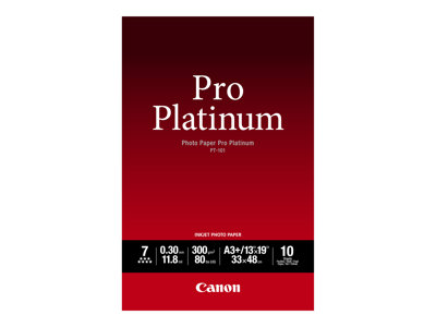 Canon  Pro Platinum Fotopapir A3 plus (329 x 423 mm) 10ark