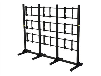 Premier Mounts MVWS-3X3-46 Stand for 9 monitors black screen size: 46INCH floor