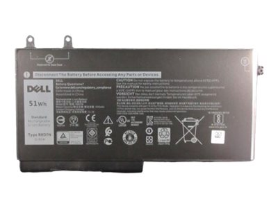 Dell - notebook battery - 51 Wh