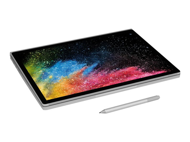 Microsoft Surface Book 2 - Tablette - avec socle pour clavier - Core i7 8650U / 1.9 GHz - Win 10 Pro 64 bits - 16 Go RAM - 512 Go SSD - 15