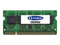 Integral, 4GB, DDR2, 800MHz, CL6, SODIMM
