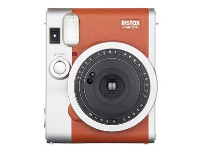 Fujifilm Instax Mini 90 NEO CLASSIC Instant camera lens: 60 mm brown