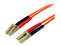StarTech.com 2m Fiber Optic Cable - 50FIBLCLC2