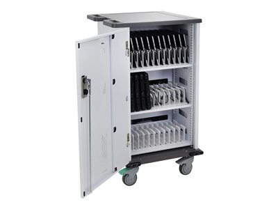 Ergotron YES Basic Charging Cart Cart (charge only) for 36 tablets / notebooks lockable