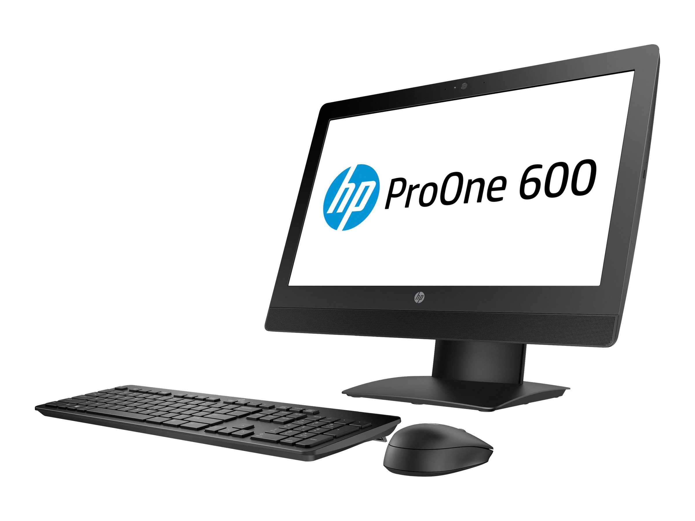 HP ProOne 600 G3 - All-in-One (Komplettlösung) - 1 x Core i5 7500 / 3.4 GHz - RAM 8 GB - HDD 500 GB - DVD-Writer