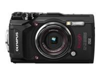 Olympus Tough TG-5 - Digital camera - compact - 12.0 MP - 4K / 30 fps - 4x optical zoom - Wi-Fi - underwater up to 15 m - black