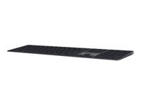 Picture of Apple Magic Keyboard with Numeric Keypad - keyboard - Denmark - space grey (MRMH2DK/A)