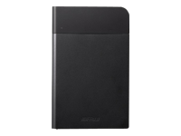 BUFFALO MiniStation Extreme - Hard drive - encrypted - 1 TB - external (portable) - USB 3.0 - black