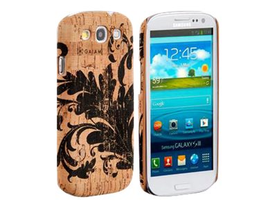Gaiam Cork Case Filigree Back cover for cell phone ABS plastic, cork -