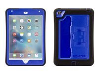 Griffin Survivor Slim - Protective case for tablet - rugged - silicone, polycarbonate - black, blue - for Apple iPad mini 4