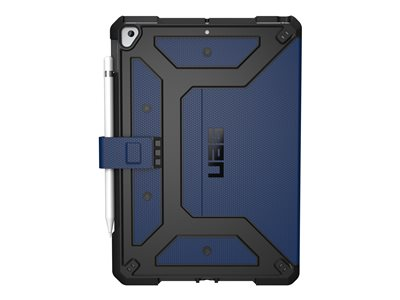 "UAG Rugged Case for iPad 10.2-inch (7th Gen, 2019) - Metropolis Cobalt - Back cover for tablet - cobalt - 10.2"" - for Apple 10.2-inch iPad (7th generation)"