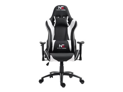 Nordic Gaming Racer Chair White Black