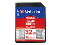 Verbatim - Carte mémoire flash - 32 Go - Class 10 - SDHC