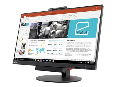 Lenovo ThinkCentre Tiny-in-One 24 Gen 3 LED monitor 23.8INCH (23.8INCH viewable) touchscreen  image