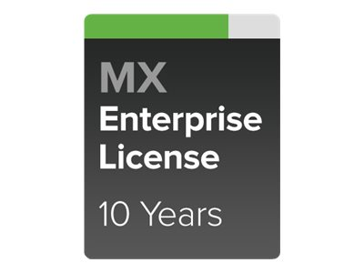 Cisco Meraki Enterprise - subscription license (10 years) + 10 Years Enterprise Support - 1 security appliance