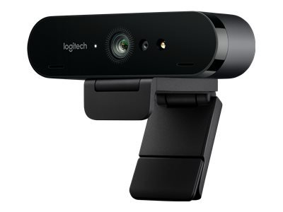 Logitech BRIO 4K Ultra HD webcam - Web camera - colour - 4096 x 2160 - audio - USB