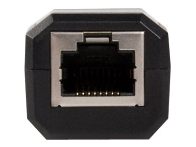 StarTech.com USB To Ethernet Adapter - 10/100Mbps Ethernet - USB 2.0 - Black - USB Ethernet Adapter (USB2106S)