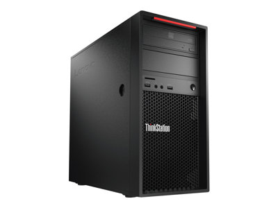 Lenovo ThinkStation P520c - tower - Xeon W-2125 4 GHz - 16 GB - 512 GB