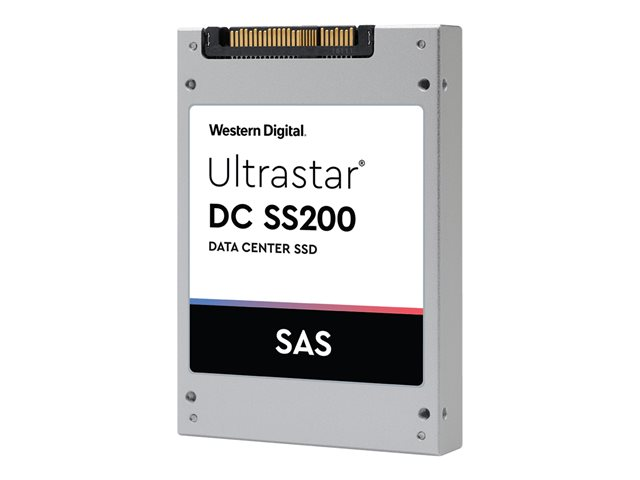 "WD Ultrastar SS200 SDLL1HLR-076T-CCA1 - Disque SSD - 7.68 To - interne - 2.5"" SFF - SAS 12Gb/s"