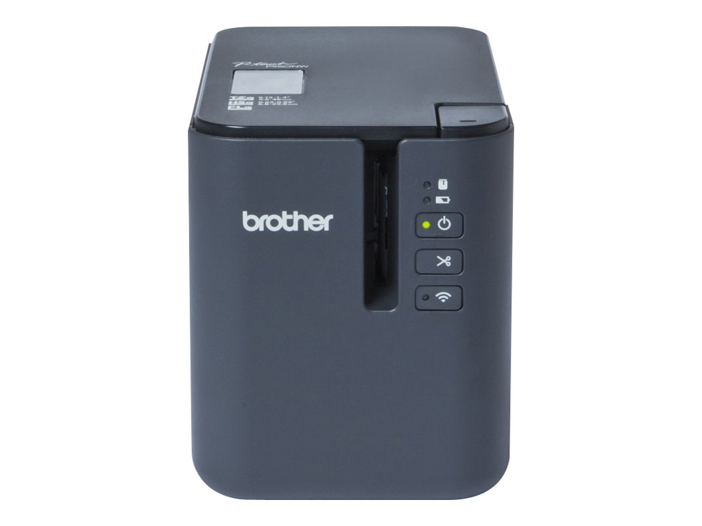 Brother P-Touch P950NW - Etikettendrucker - Thermal Transfer - Rolle (3,6 cm) - 360 x 720 dpi - bis zu 80 mm/Sek.