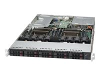 Supermicro SuperServer 1028UX-CR-LL2 Server rack-mountable 1U 2-way RAM 0 MB SATA/SAS