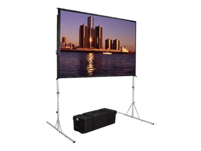 Da-Lite Fast-Fold Deluxe Screen System HDTV Format Projection screen with detachable legs