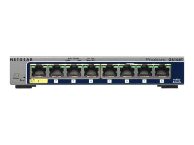 GS108T 8-Port Gigabit Smart Managed Switch