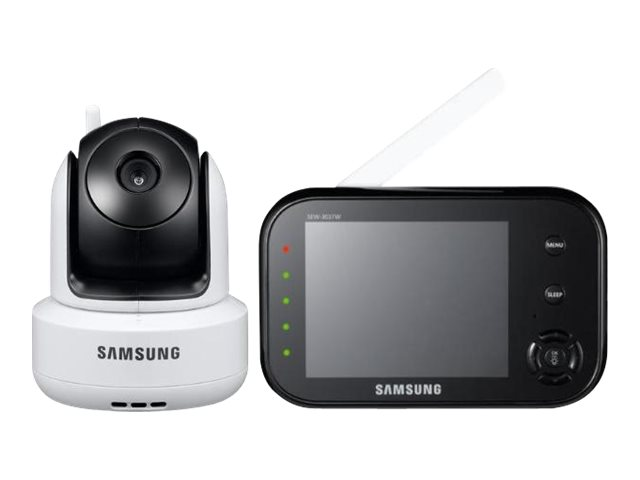 Samsung Techwin SafeVIEW SEW-3037 - Babyphon - drahtlos - 8.9 cm ( 3.5