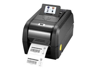 Wasp WPL308 - Label printer - DT/TT - Roll (4.4 in) - 203 dpi - up to 479.5 inch/min - capacity: 1 roll - USB 2.0, LAN, USB host, RS232