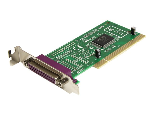 StarTech.com 1 Port PCI Parallel DB25 Schnittstellenkarte - Low Profile - Parallel-Adapter - PCI Low Profile - IEEE 1284