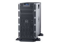"Dell PowerEdge T330 - Serveur - tour - 5U - 1 voie - 1 x Xeon E3-1220V6 / 3 GHz - RAM 8 Go - SAS - hot-swap 3.5"" - HDD 1 To - graveur de DVD - Matrox G200 - GigE - Aucun SE fourni - moniteur : aucun - BTP - Dell Smart Value"
