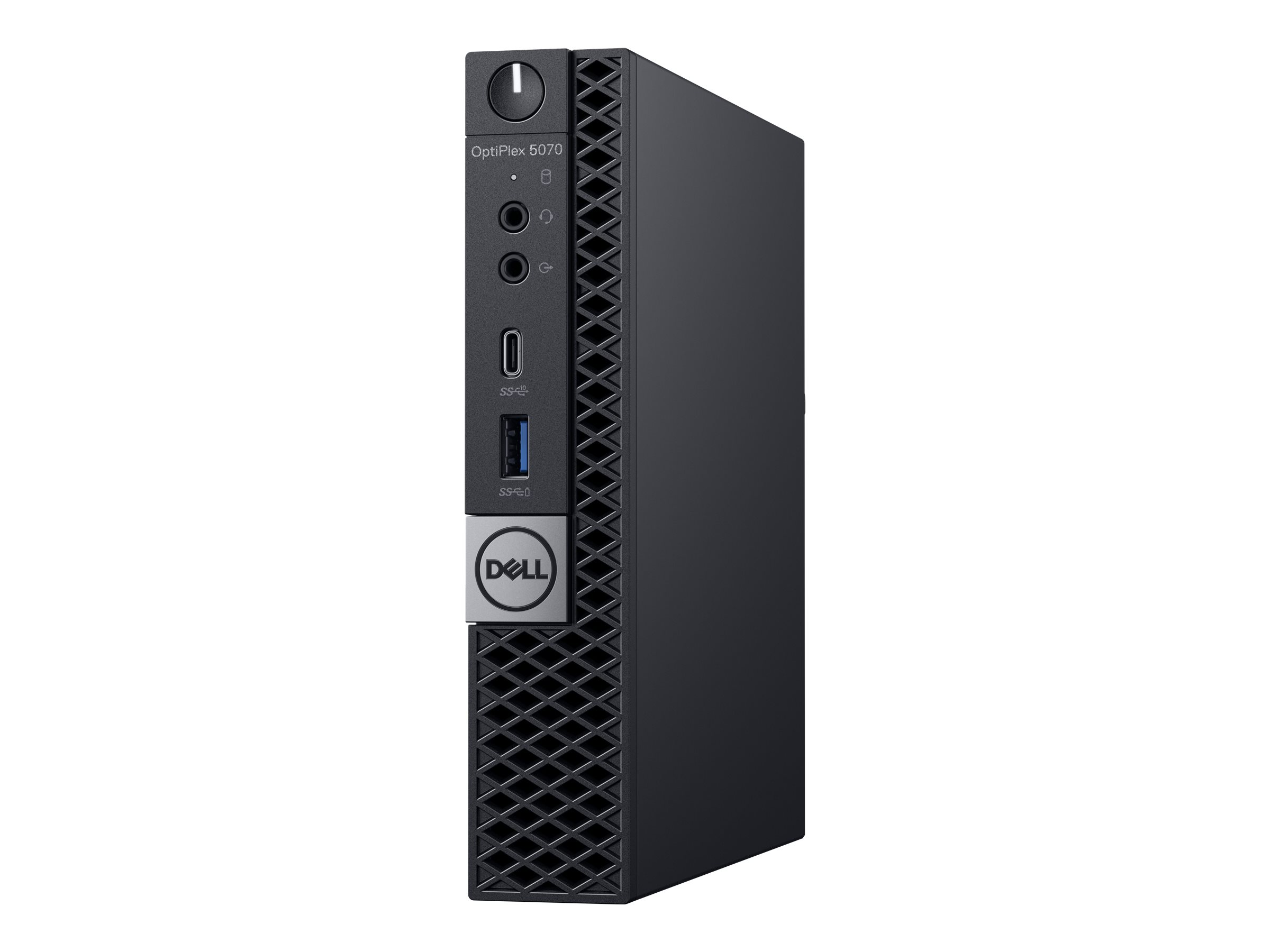 Dell OptiPlex 5070 - micro - Core i7 9700T 2 GHz - 8 GB - 256 GB - with 3-year ProSupport Plus NBD