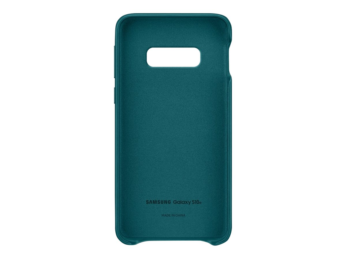 Samsung Leather Back Cover EF-VG970 - back cover for cell phone