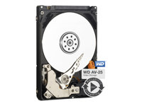 "WD AV-25 WD5000LUCT - Disque dur - 500 Go - interne - 2.5"" - SATA 3Gb/s - 5400 tours/min - mémoire tampon : 16 Mo"