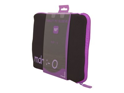 Urban Factory Sleeve Laptop 10INCH Purple INCHmdrINCH lettering Protective sleeve for tablet