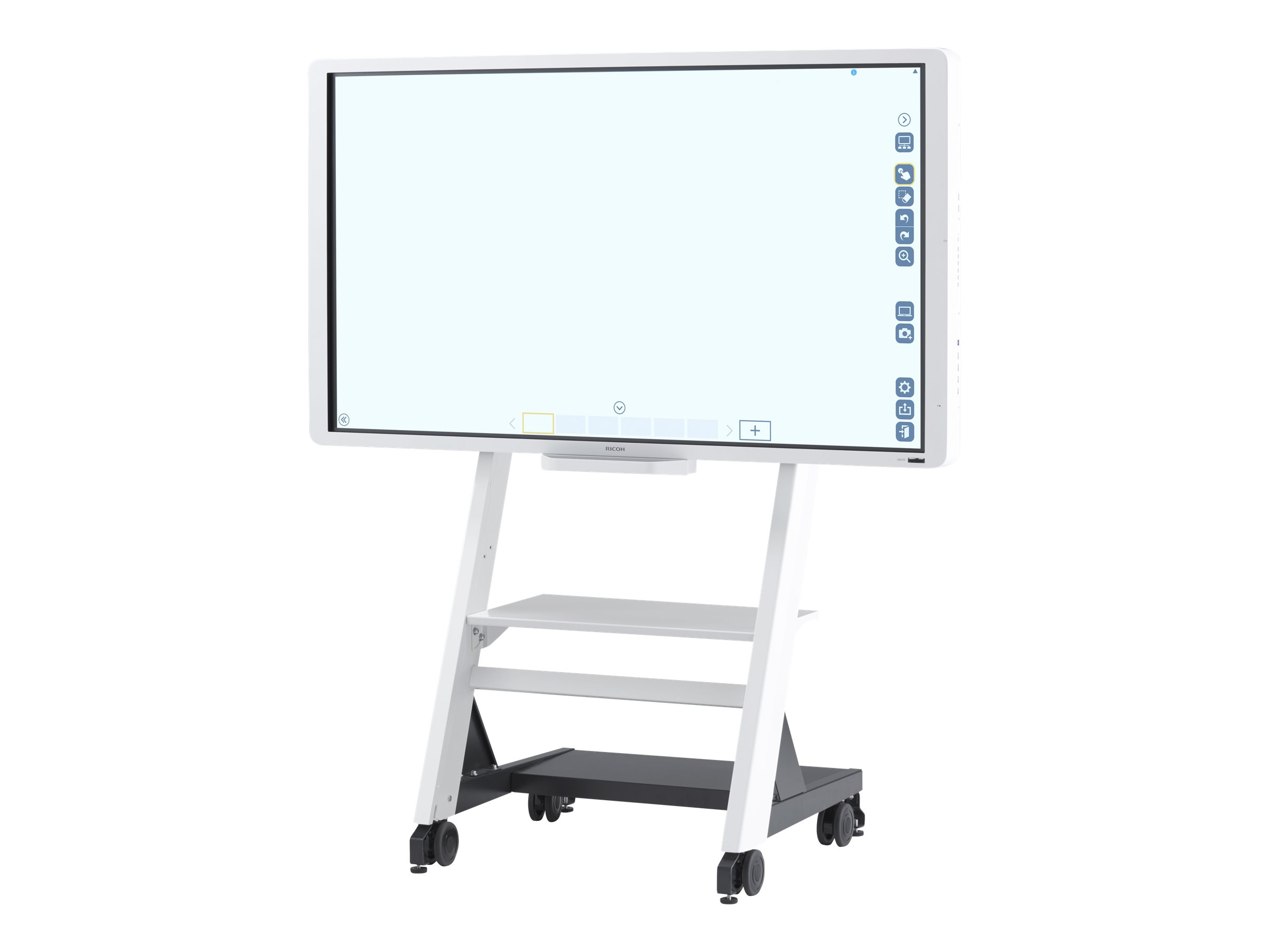 "Ricoh Interactive Flat Panel Display D6510 Interactive Whiteboard Display 65"" - interactive whiteboard - USB, VGA, DVI,…"